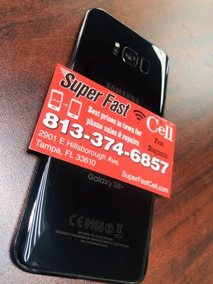 📱📱📱Samsung S8 plus factory unlocked with warranty for Sale in Tampa, FL
