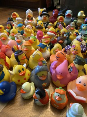 Rubber Duckie collection. 80+ pieces for Sale in Largo, FL