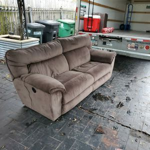 Power Reclining Sofa for Sale in Houston, TX