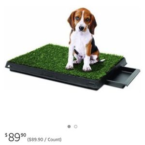 Pet Potty Pet Park Deluxe 3-Piece Dog Relief System, Measurement - 25x20x2.5 Inches for Sale in Sloan, NV