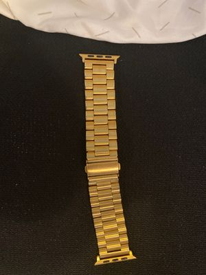 Apple Watch band 42mm gold for Sale in Dearborn, MI