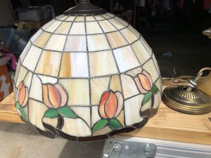 Glass mosaic hanging light fixture for Sale in Cottleville, MO