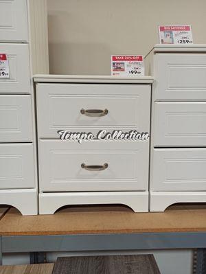 2 Drawer Nightstand, White, SKU# ASHB102-92TC for Sale in Santa Fe Springs, CA