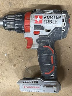 Porter Cable PCCK607 20-Volt Lithium-Ion Cordless Brushless Drill Driver for Sale in Lake Oswego,  OR