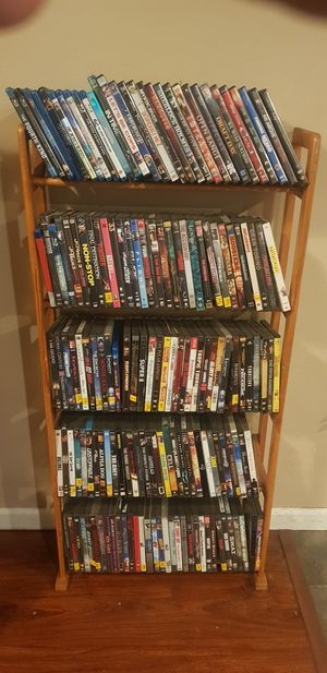 DVD collection with Blueray players and surround sound AMD stand for Sale in Tacoma, WA