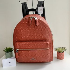 Coach Charlie Backpack Signature Leather for Sale in Chicago, IL