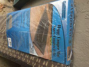 6x9 patio mat indoor /outdoor happy camper for Sale in Reddick, FL