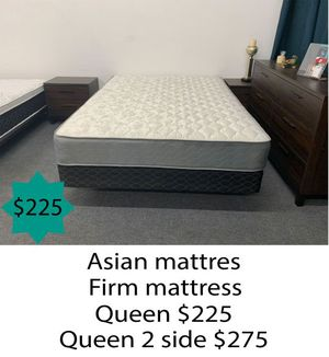 Asian firm mattress queen size for Sale in Costa Mesa, CA