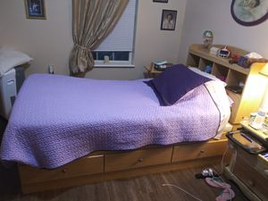 Twin bed with mattress for Sale in Columbiana, OH