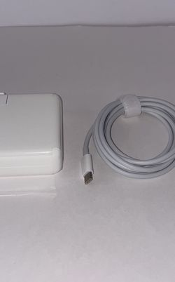 61W Usb-C Laptop Charger (Thunderbolt 3, MacBook) for Sale in Loma Linda,  CA
