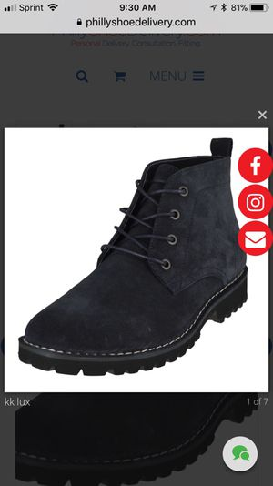 Kenneth Cole Winter Suede Boots Size 8 To 13 Slip Resistance for Sale in Philadelphia, PA