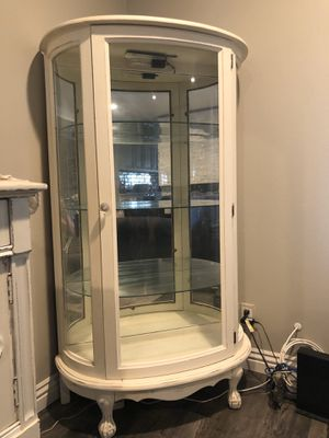 """Antique Curio 60"""" tall by 34 1/2""""W 15""""D for Sale in Anaheim, CA"""