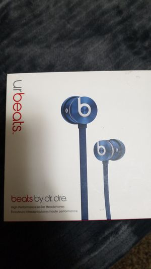 Beat headphones blue for Sale in Clearfield, UT