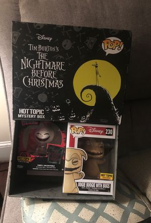 Pop figures Tim Burton's The nightmare before Christmas set for Sale in Philadelphia, PA