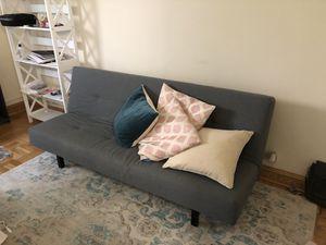 Stylish Grey Futon! ($30) for Sale in New York, NY