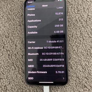 iPhone X 256gb Factory Unlocked Clean Imei for Sale in Orlando, FL