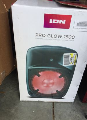 Ion Pro Glow 1500 for Sale in Tampa, FL