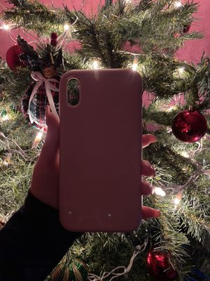 Pink Silicon iPhone XR case for Sale in Los Angeles, CA