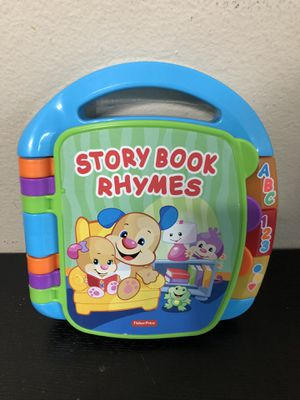 Fisher Price Laugh & Learn Storybook Rhymes for Sale in Lynnwood, WA