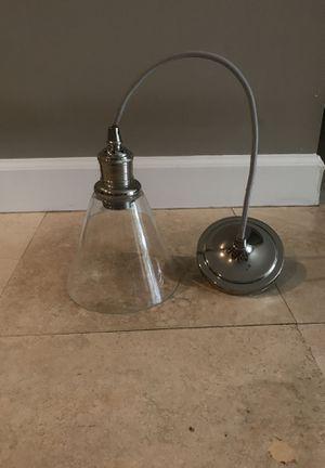 Hanging glass light fixture for Sale in Fort Lauderdale, FL