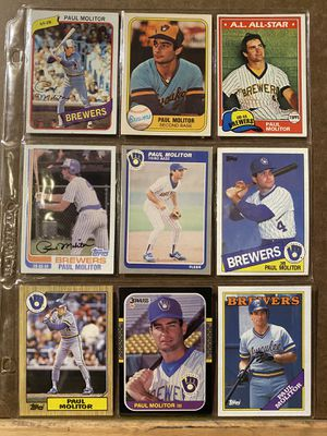 Baseball Card Pages $6 each! for Sale in New Market, MD