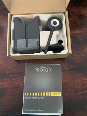 Jabra PRO 920 Headset for Sale in Langhorne, PA