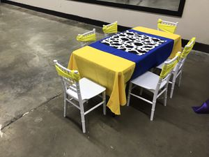 Mesa para fiesta infantil/ table for kid birthday party for Sale in Grand Prairie, TX