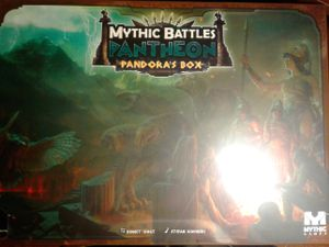Mythic Battles Pantheon Pandoras Box Board Game for Sale in Battle Ground, WA