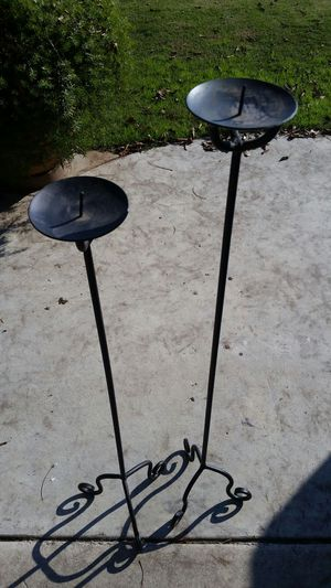 Iron Candleholder Stands for Sale in Fresno, CA