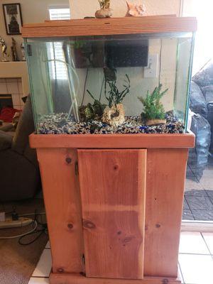 40 gallon Fish tank for Sale in Moreno Valley, CA
