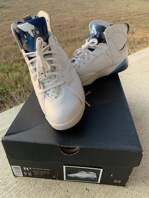 Jordan Retro 7 French Blue size 11.5 for Sale in Houston, TX