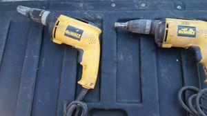 DeWalt screw drills drywall for Sale in Waynesburg, PA