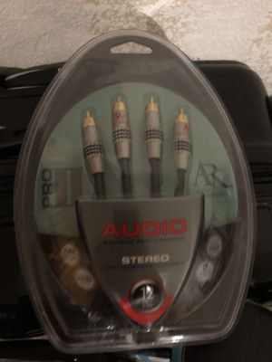 Acoustic Research Pro II Audio Cables for Sale in Jamestown, NC