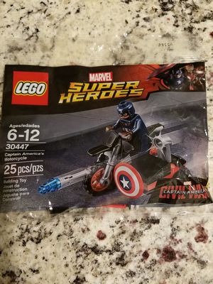 Lego Captain America Motorcycle for Sale in Aubrey, TX
