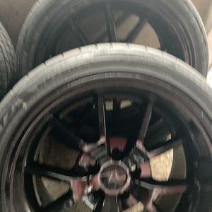 "18"" Staggered Wheels 5x114/ 5x4.5 Bolt Pattern for Sale in Algona, WA"