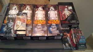 Large lot of new Star wars figures great deal for Sale in Poway, CA