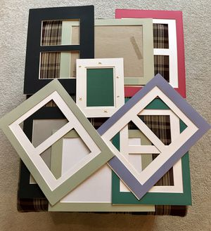 Mats for picture frames for Sale in Snohomish, WA