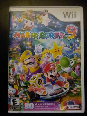 Mario party 9 for Sale in Sacramento, CA