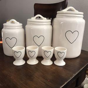 Rae Dunn Valentines Set for Sale in Gilbert, AZ