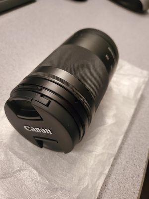 Canon 150mm Stm lense - brand new for Sale in San Antonio, TX