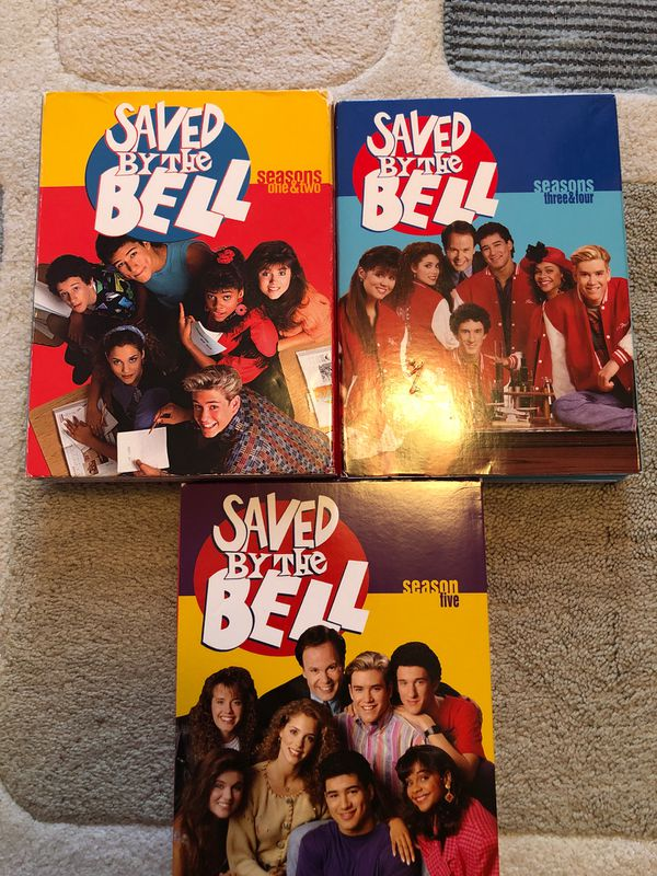 $30 OBO Saved By The Bell - Complete Series - DVD - Seasons 1 -5