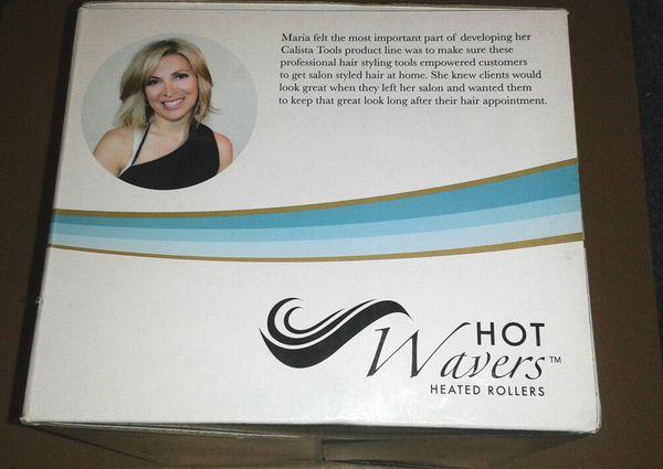 Calista HOT WAVERS Heated Hair Rollers