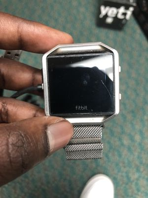 Blaze Fitbit Fitness Band W Charger!! .. Negotiable for Sale in Baltimore, MD