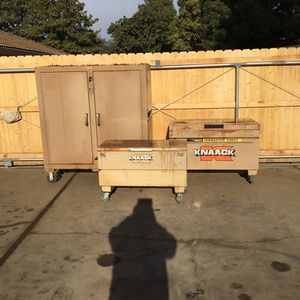 Knack Job master Toolboxes for Sale in Chico, CA