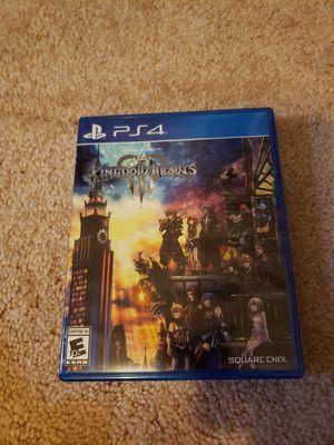 Kingdom Hearts 3 PS4 for Sale in Vallejo, CA