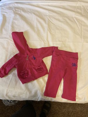 Baby Phat Baby Girls Sweat Suit 3-6M for Sale in Del City, OK