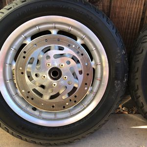 Harley Davidson Rims And Tires for Sale in Clayton, CA