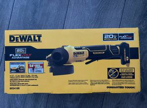 Dewalt 20-Volt MAX Lithium Ion Cordless Brushless 4-1/2 - 5 in. Paddle Switch Angle Grinder with FLEXVOLT ADVANTAGE (Tool Only) for Sale in Stickney, IL