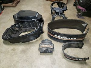 Mercury outboard engine parts covers for Sale in Covina, CA