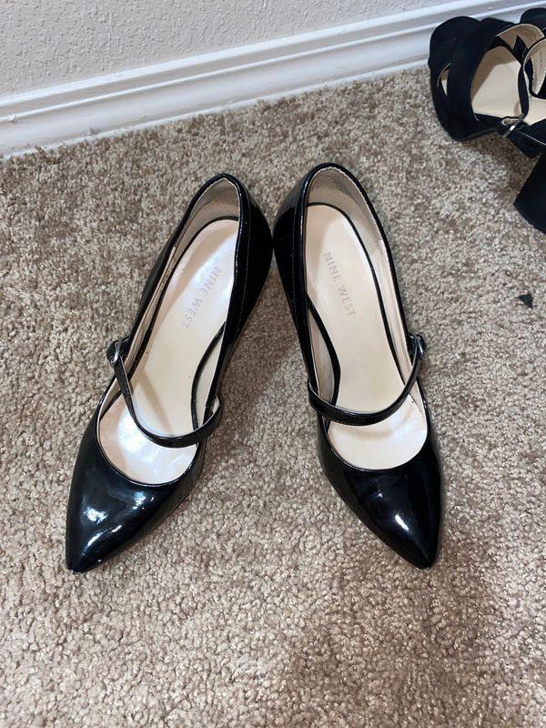 Nine West strap heels size 6